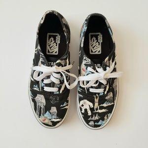 Vans x Star Wars Planet Hoth Dark Side Sneakers